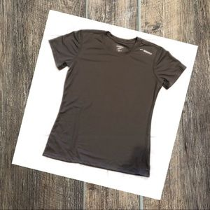 Brooks Athletic Running T Shirt Top Gray Small